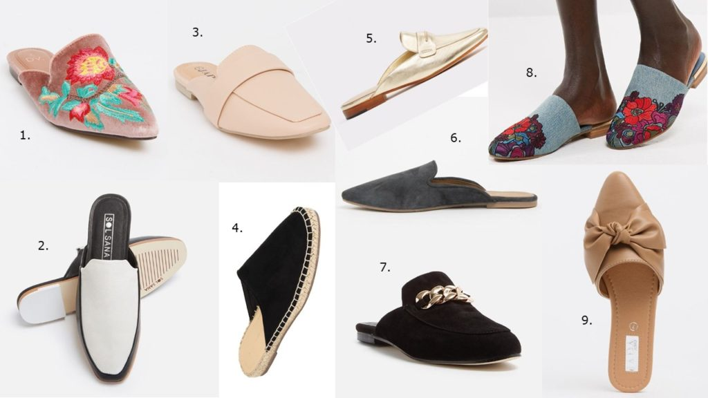 Top 5 Shoes Trends For Spring Summer 2017