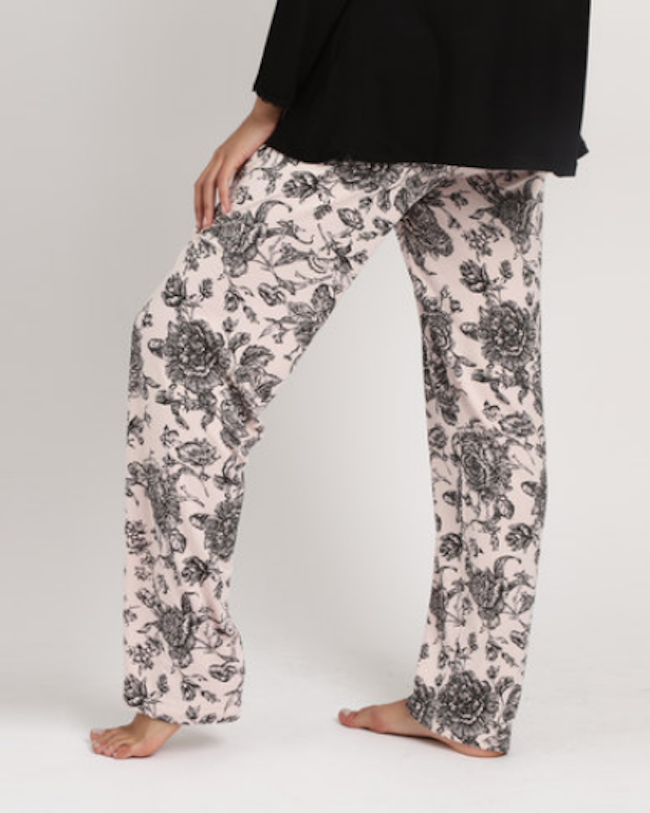520812bd4f Poppy Divine Long Printed With Bow Pants
